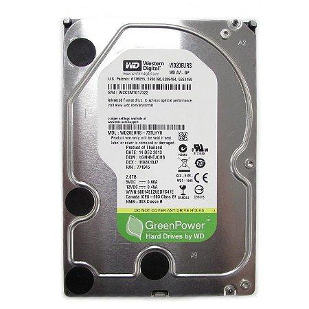 HD Interno 2TB Western Digital Green Power