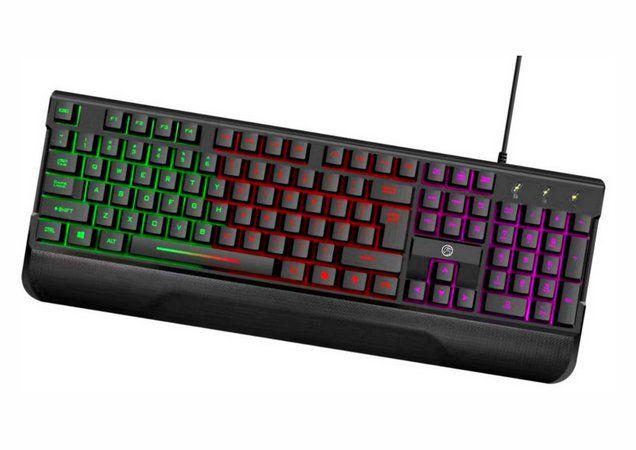Teclado Gamer BPC-K7038 com Iluminação Rainbow