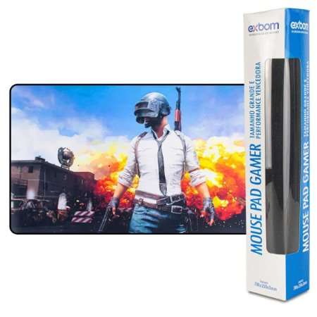 Mouse Pad Gamer Exbom Pu Mission