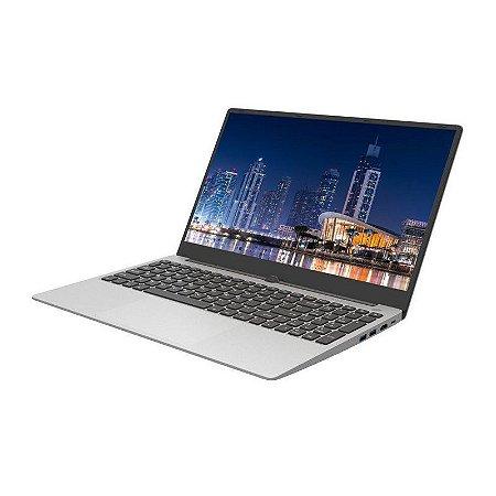 Notebook Intel I3, 4GB RAM, 500GB HD, Tela 15.6, PRATA Brazil PC