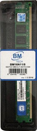 Memória DDR3 8GB BM Tech 1600MHz