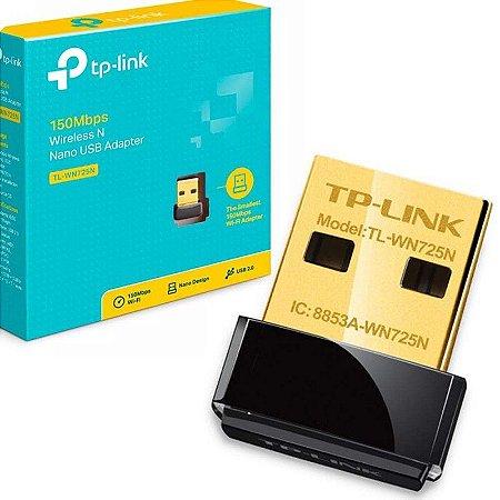 Adaptador Wireless TP-Link TL-WN725N