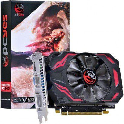 Placa de Vídeo Radeon R7240 4GB GDDR5 PCYES