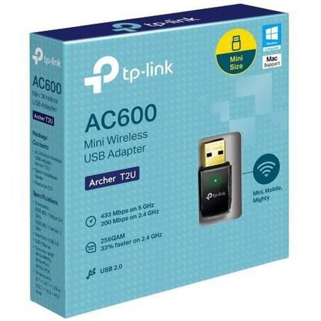 Adaptador WI-FI TP Link AC600 Archer T2U