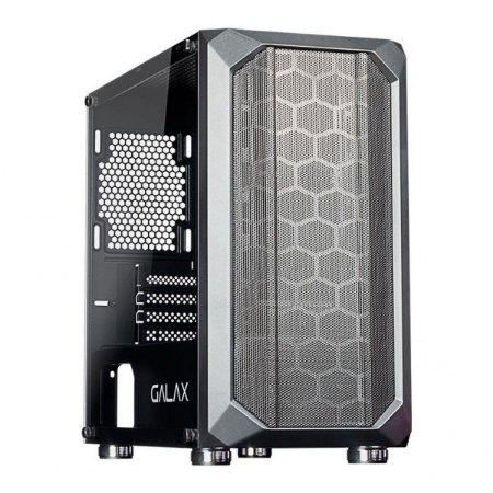 Computador, Gabinete Gamer Galax GX700,  I5 9400, Placa Mãe H310, Placa de Vídeo GT730, Memória 2x DDR4 4GB, SSD 240GB, Fonte 500W, Kit Cooler