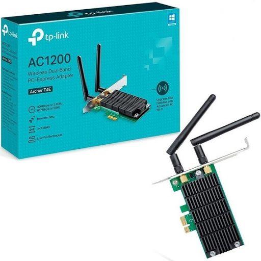 Placa de Rede PCI Express Dual Band AC1200 Archer T4E