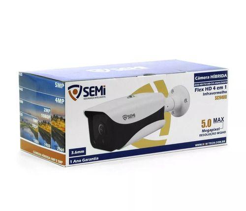 Câmera Híbrida Semi 4 em 1 SC9400