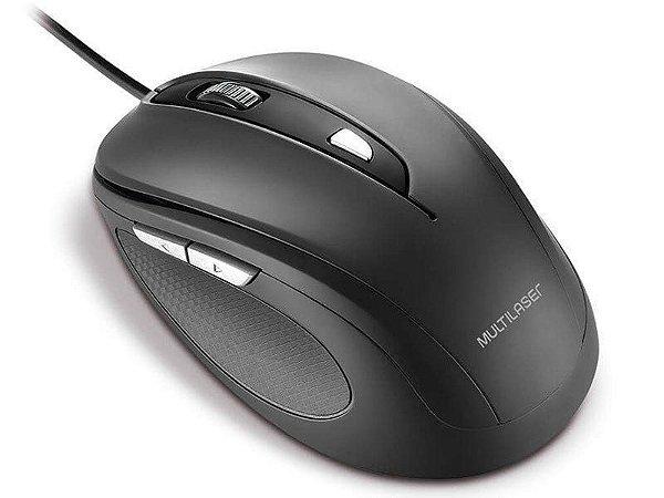 Mouse com Fio Multilaser MO241