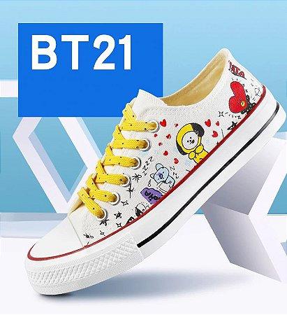 Tênis BT21 Dual Laces