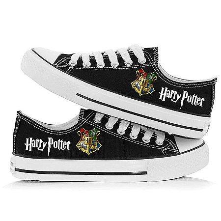 Tênis HARRY POTTER Hogwarts com Todas as Casas