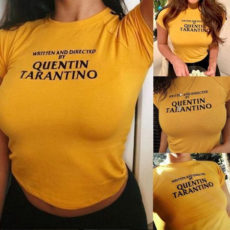 Camiseta Cropped QUENTIN TARANTINO