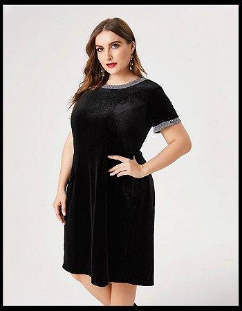 Vestido de Veludo BLACK BEAUTY