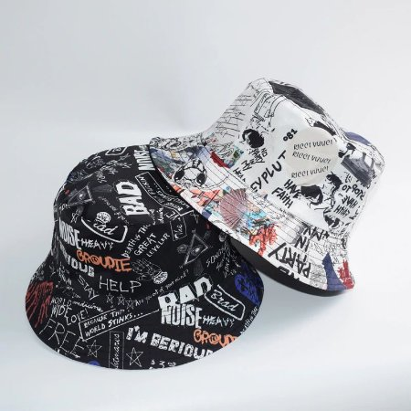 Chapéu BUCKET HAT Graffited - Várias Estampas