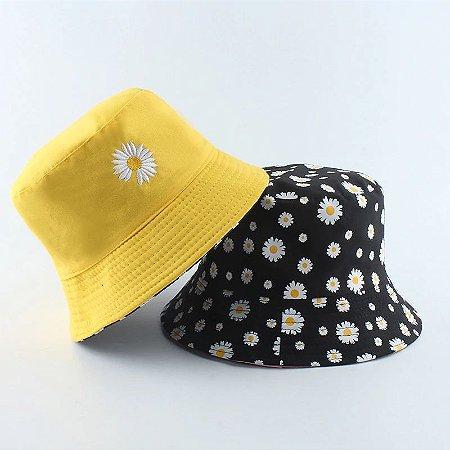 Chapéu BUCKET HAT Dupla Face DAISIES - Várias Cores