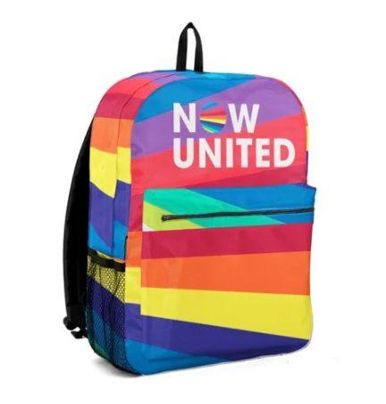Mochila Grande NOW UNITED Rainbow