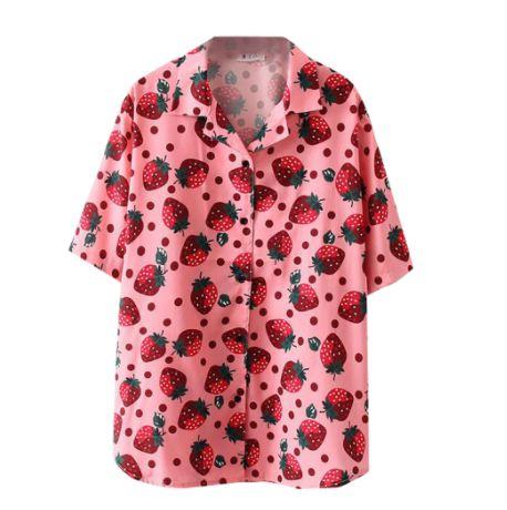 Camisa Solta MORANGUINHOS