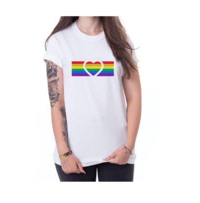 Camiseta CORAÇÃO LGBTQ+