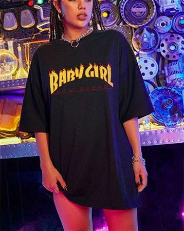 Camiseta Longa BABY GIRL