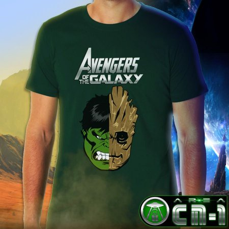 Avengers of the Galaxy- Hulk/ Groot