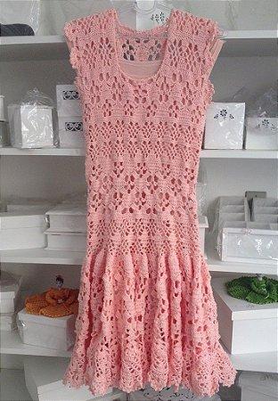 Vestido Crochê 01 2014