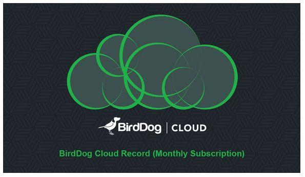 BirdDog Cloud Record (Assinatura Mensal)