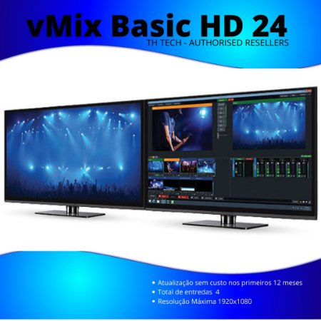 vMix Basic HD 24