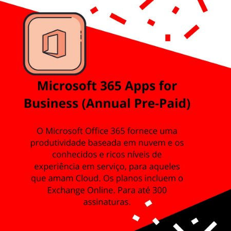 Microsoft 365 Apps for Business (Annual Pre-Paid)