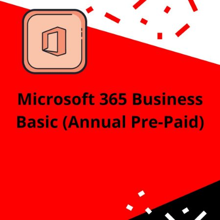 Microsoft 365 Business Basic (Annual Pre-Paid)