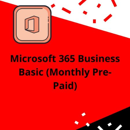 Microsoft 365 Business Basic (Monthly Pre-Paid)