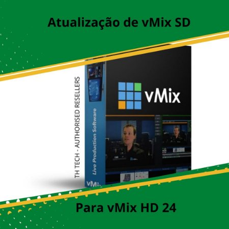 vMix HD Upgrade From SD