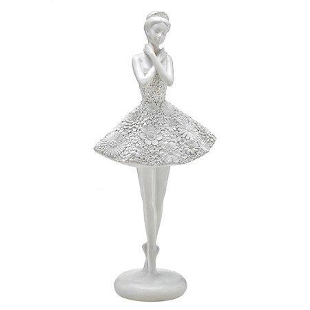 Escultura Bailarina em Resina