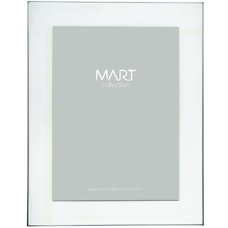 Porta-retrato 10x15cm Prata em Metal