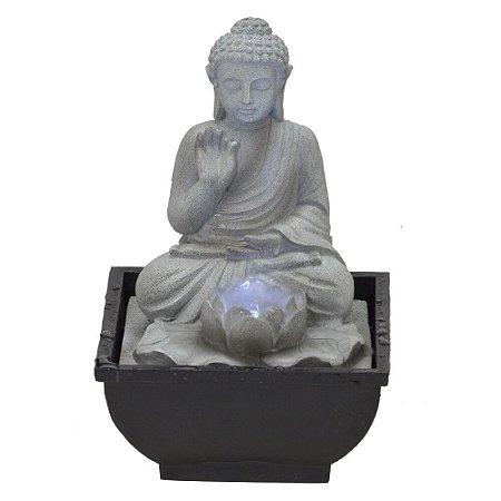 Fonte D'água Decorativa Buda 110V
