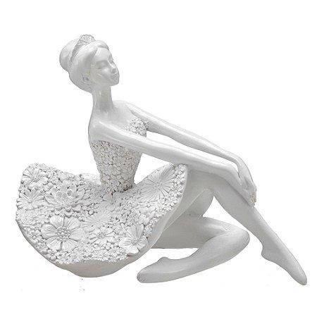 Bailarina Decorativa Resina