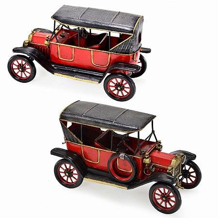 Miniatura de Carro decorativo de Metal