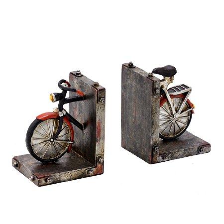 Porta Livro / Aparador Decorativo Bicicleta