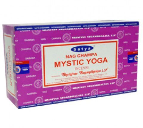 Incenso Satya Mystic Yoga Massala
