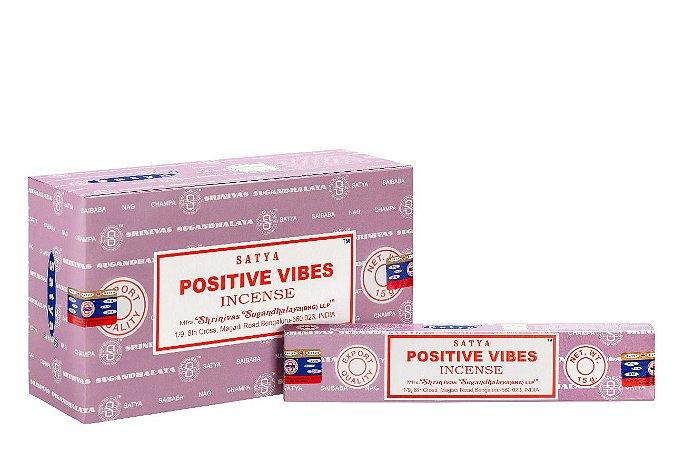 Incenso Satya Positive Vibes Massala