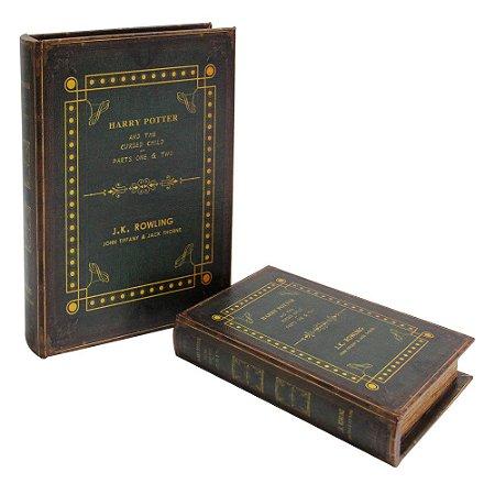 Conjunto de livros caixa Harry Potter - 2pçs