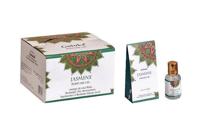 Oleo Aromatizador Essencial Indiano Jasmine - Goloka