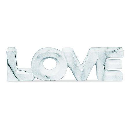 08732 - LOVE MARMORE EM CERAMICA