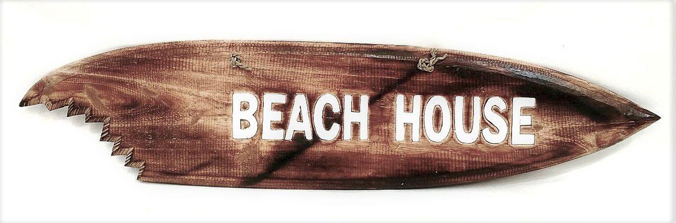 PRANCHA SHARK BEACH HOUSE NATURAL PAREDE