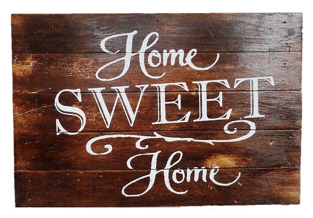 PLACA HOME SWEET HOME NATURAL