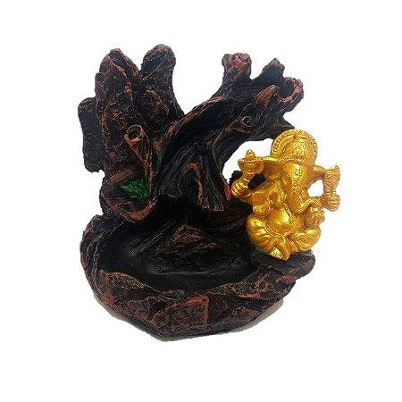 Incensario Cascata Ganesha na árvore