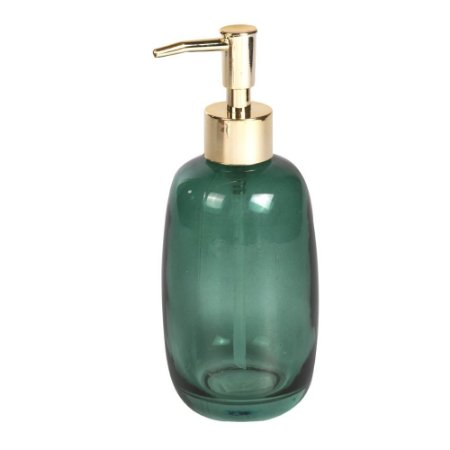 Porta Sabonete Liquido de vidro Verde