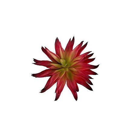 Echeveria Suculenta Artificial (15cm) - VERMELHO