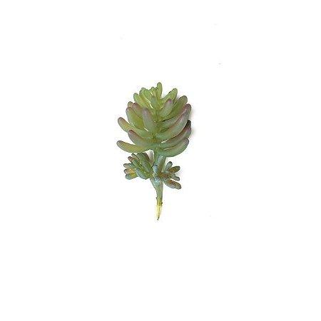 Dedo de Moça Suculenta Mini Artificial (11cm)