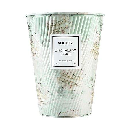 Vela Voluspa Macaron Collection Lata Cone 100H BIRTHDAY CAKE - 737g