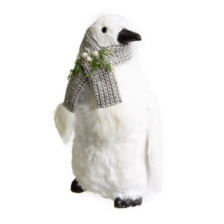 Pinguim Cute Stay Branco em Pelucia