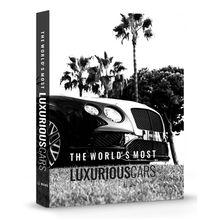 CAIXA LIVRO LUXURIOUS CARS